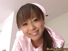Junko Hayama - Junko Hayama Real Asian Model Getting Loads Of Skeet 1 By BukkakeLoad