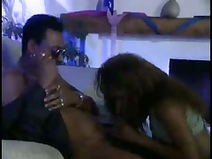 Ebony Stud Knows How To Bang His Lady