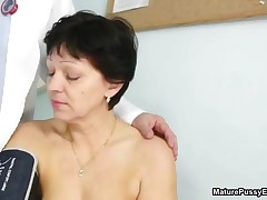 Horny Mature Mom Loves Getting A Check Up From This Old Doctor By MaturePussyExams