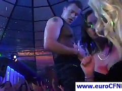 Sexy Blonde Party Chick Dance With Stripper
