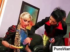 Enticing Lesbians Gets Dirty In Hot Wam Scene