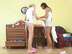 Lesbian Teen Girls Suck And Fuck Toys