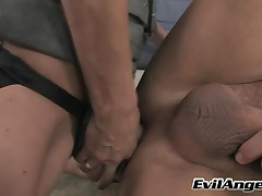 Vin Deacon And Angela Attison - MILF Strap #01