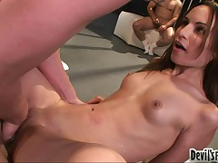 Amber Rayne - 50 Guy Cream Pie #8