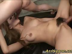 Ann Umemiya - Ann Umemiya Naughty Asian Slut Is Getting Anally Fucked 2 By AssNippon