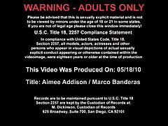 Aimee Addison Vs Marco Banderas - My Wifes Hot Friend - Aimee Is A Guest In Her Friends House And Sh