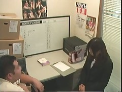 Office sex caught on tape