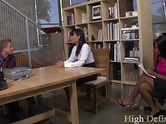 Rane Revere And Yuki Mori - Naughty Office
