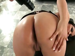 Sophia Lomeli - Amazing Big Boobs Latina Milf Sophia Lomeli Gets Her Tight Oily Booty Slammed So Har