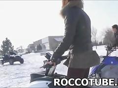 Rocco Siffredi And Franco Roccaforte - Franco Roccaforte Wins A Race Over Rocco Siffredi And Escapes