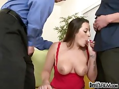 Talia Palmer - Double Cum Shot In Her Mouth