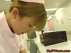 Super Sexy Japanese Nurses Sucking And Fucking Hard Cock 2 By MyJPnurse
