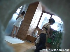 Asian Babe Is A Hot Chick Getting Felt Up In The Hot Spring Jav 1 By PublicJapan