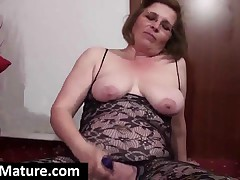 Sexy Mature Lesbians Toying Their Fuckable Pussies