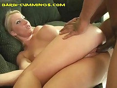 Barbi Cummings - Barbis Taking Them In Her Both Ends