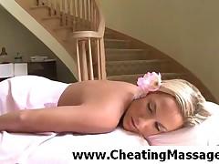 Kara Novak - Tempting Blonde Siren Gets Massaged Well