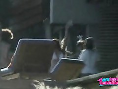 Lindsay Lohan - This Paparazzi Clip Has Lindsay Lohan In Two Different Places,  One Has Her Partying