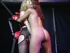 Nina Hartley & Sarah Blake Bangs Natasha Playful