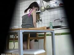 Hidden Spy Cam Catches Horny Sister