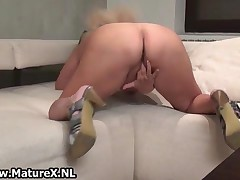 Thick Mature Woman Loves To Please Her Own Tight Pussy At Home By MatureX