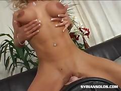 Victoria - Blonde Slut On The Sybian