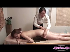 Sexy Japanese Oil Massage.