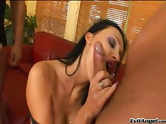 David Perry And Lauro Giotto And Csoky And Aletta Ocean - Angel Perverse #11