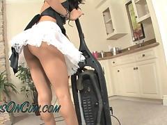 Adriana Fox - I Love To Watch My Cute Teen Maid Clean My Room Before I Jump Her Bones