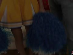 Breanne Benson - Creampied Cheerleaders