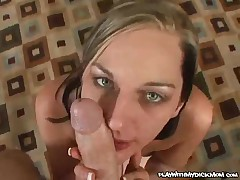 Stella Sparxxx - Hot MILF Gives A Tight Blowjob