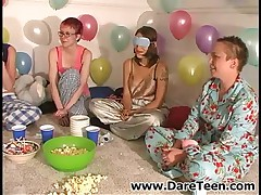 Hot Girls In Pajamas Getting Wild On Truth Or Dare Sexgame