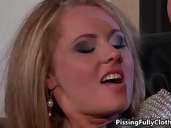 Two Pee Loving Lesbian Euro Babes Having Some Sensual Fun By PissingFullyClothed