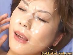 Hime Kamiya - Hime Kamiya Asian Teen In Hot Bukkake 3 By BukkakeLoad