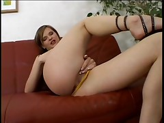 Erotic Czech Centerfold P.O.V. Anal and Cheeky