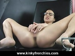 Bianca - Jay Fisting My Pussy In The Donjon