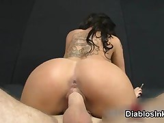 Sexy Tattoo Babe Christy Mack Gets Her Tight Pussy Fucked Hard Doggystyle By DiablosInk