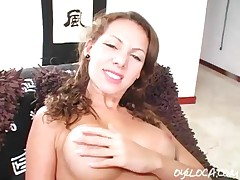 Jazmin Ortega - Hot Busty Latina Fingers Wet And Then Gets Fucked