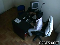Raquel - Raquel Got Caught Cheating Her Husband By This Hidden Cam Planted In Her Office