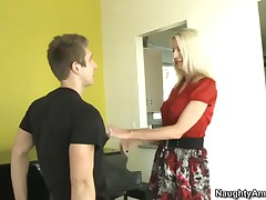 Emma Starr Vs Danny Wylde - Seduced By A Cougar - Emma Cant Help Herself, And Decides To Turn The Ta