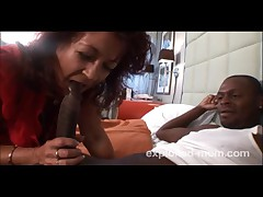 Pierced Mature Milf Gets Fucked By Black Cock