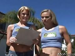 Melanie Jayne And Riley Ray - Teens At Work