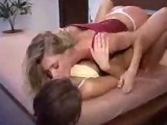 Two hot girls rubbing clits together!