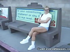 Andrew Andretti And Barbara Summer - Cum Covered Glasses