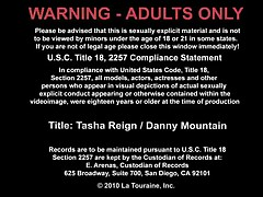 Tasha Reign Vs Danny Mountain - Naughty Rich Girls - Tasha Is On The Phone With Her Friend When The