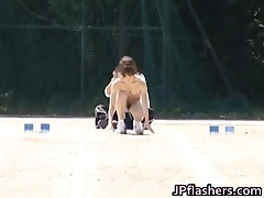 Asian Girls Run A Nude Track And Field 1 By JPflashers