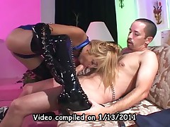 Kat And Audrey Hollander And Aurora Snow And Nikki Hunter - Compilation Of Thigh High Boots And Sex