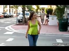 Kristina Rose - Kristina Tugs It Bangbros Style