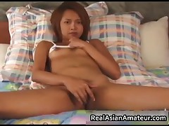Naughty Asian Nympho Fingering Her Hairy Snatch 3 By RealAsianAmateur