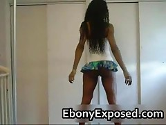 Black Stunner Shakes Her Bubbly Booty 1 By EbonyExposed