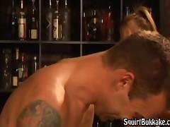 Trent Tesoro - Trent Gets Drunk On Ladys Cum